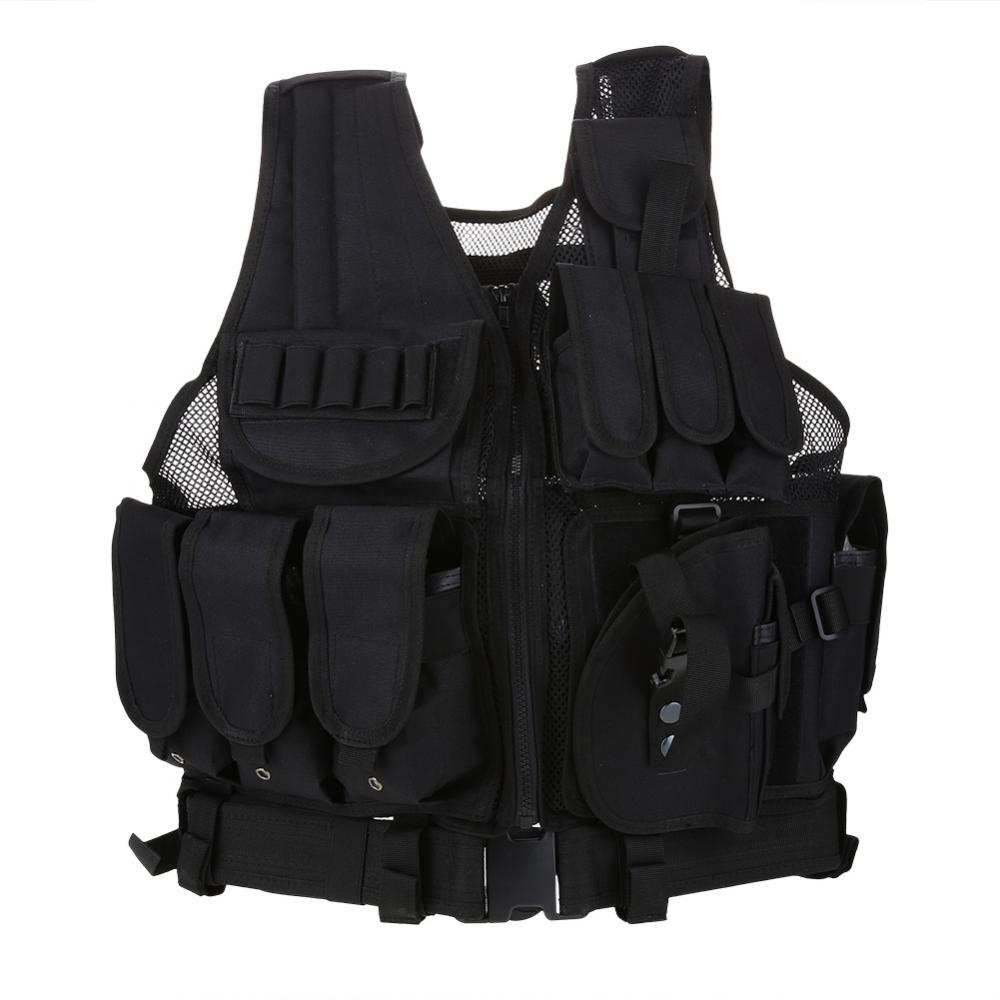 Best Bullet Proof Vests - Yosoo Military Guard Vest Plate Carrier Bullet Holster Review