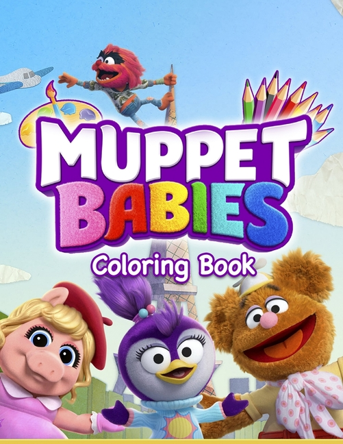 Muppet Babies Coloring Book: 30 Awesome Illustrations For Kids (Paperback)  - Walmart.com - Walmart.com