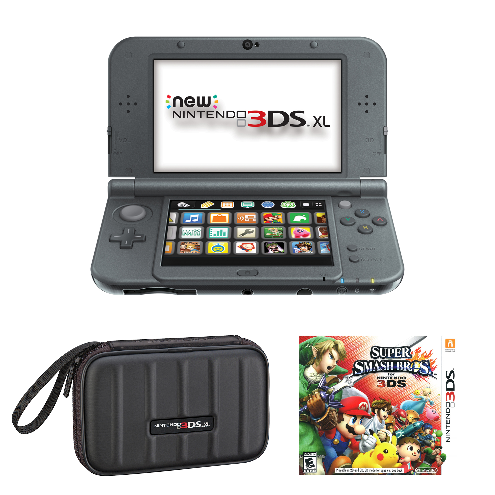 Nintendo 3DS XL with Your Choice of Game and Accessory