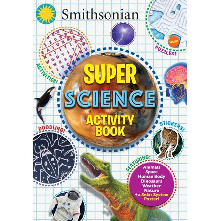 Smithsonian Super Science Activity Book Activity Books Earth Science