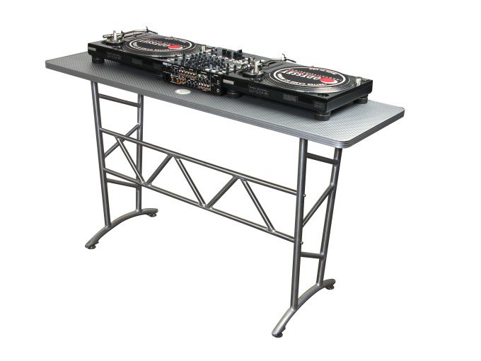 Odyssey ATT Pro DJ Aluminum Truss Table Turntable Stand, 200 Pound Capacity by Odyssey Case