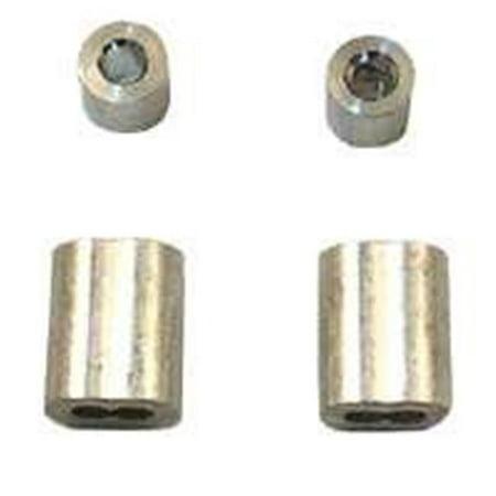 GD12154 0.25 Cable Ferrule & Stop, Aluminum
