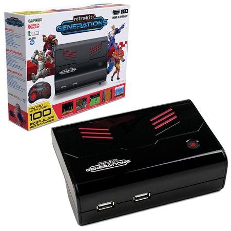 PlayStation retro-bit rb-pp-6539 generaciones Plug-n-Play juego consola rojo/negro + Generic en Veo y Compro
