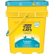 Purina Tidy Cats Clumping Litter Instant Action for Multiple Cats 35 lb. Pail