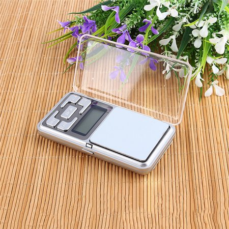 Spring Balance Scale - Digital Kitchen Pocket Scale Mini Electronic Jewelry Scale 500g/0.1g High Precision Digital Balance Weighing Pocket Scale Tool with Platform LCD Display