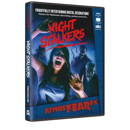 AtmosFearFX Night Stalkers Halloween Digital Decoration DVD - Halloween Scream Store