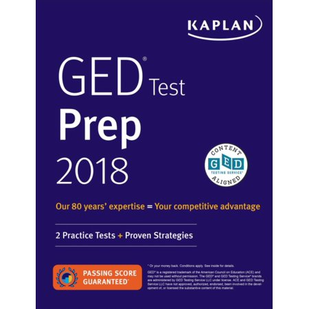GED Test Prep 2019 : 2 Practice Tests + Proven (Best Gmat Study Guide 2019)