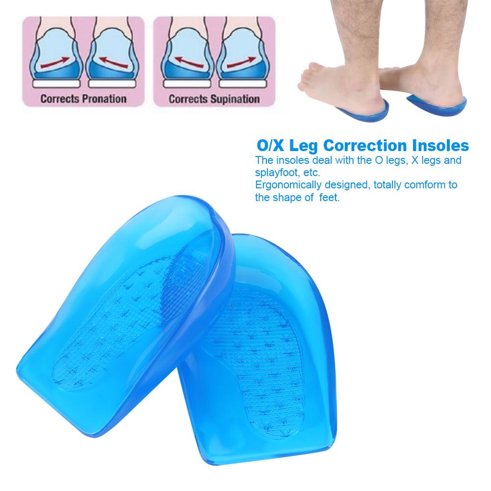 Silicone Gel O/X Leg Correction Insoles