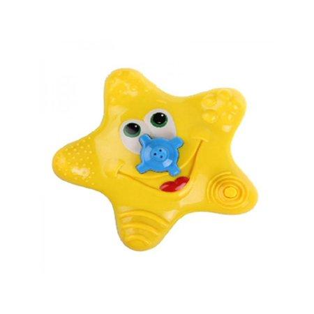Topumt Bathing Toy Spray Water Bath Toy Water Jet Starfish Baby Kids Children Toys Safe Swimming Player