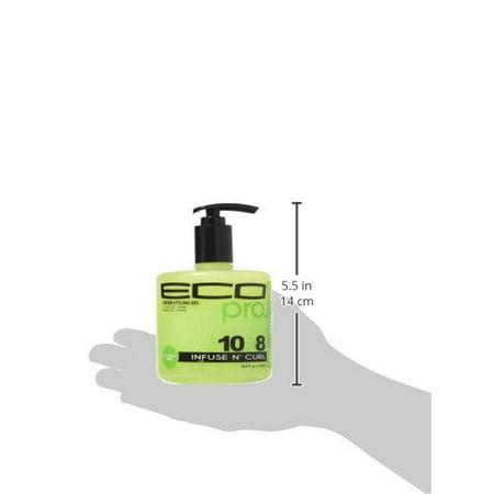 Eco Pro Infuse N` Curl Gel, 16.9 Ounce - image 2 de 4