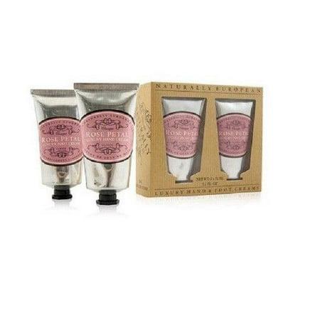 The Somerset Co. Luxury Hand & Foot Creams Rose Petal 5 oz.