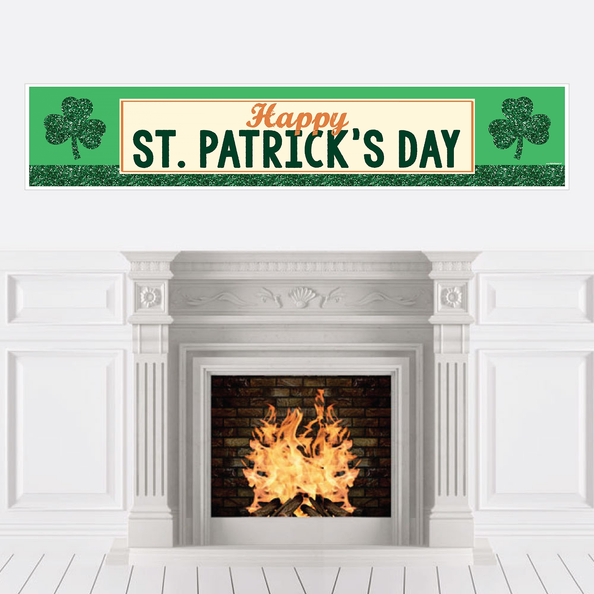 St. Patrick's Day - Saint Patty's Day Party Decorations Party Banner