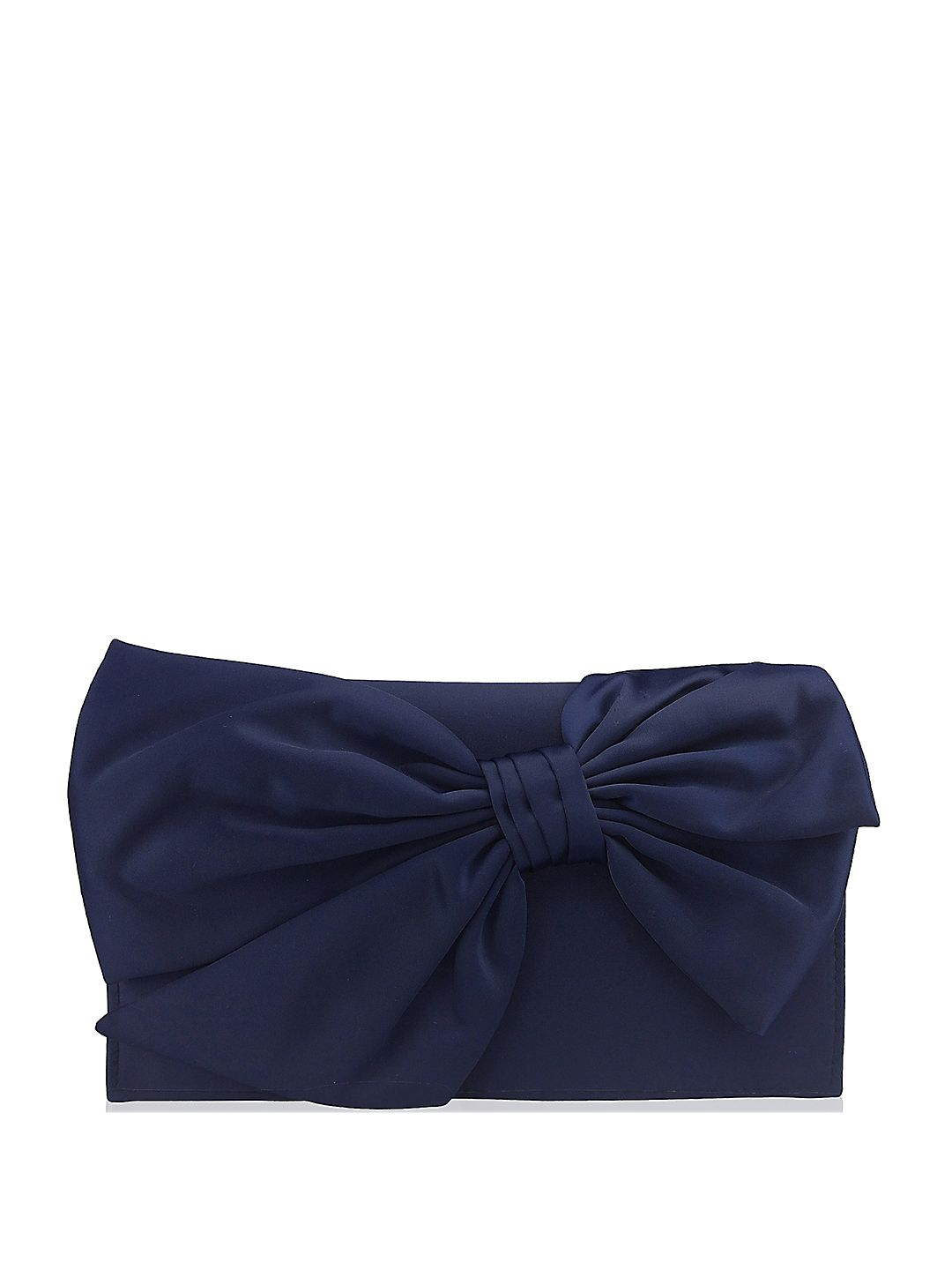 Beaded Strap Bow Clutch