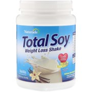 Naturade Total Soy Vanilla Natural & Artificial 19.05 Ounce, Pack of 2