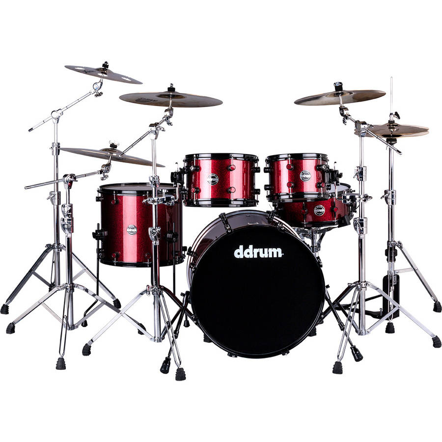 ddrum Reflex Series Red Sparkle 5-Piece Shell Pack by ddrum