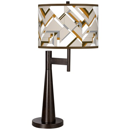 Giclee Glow Craftsman Mosaic Giclee Novo Table Lamp