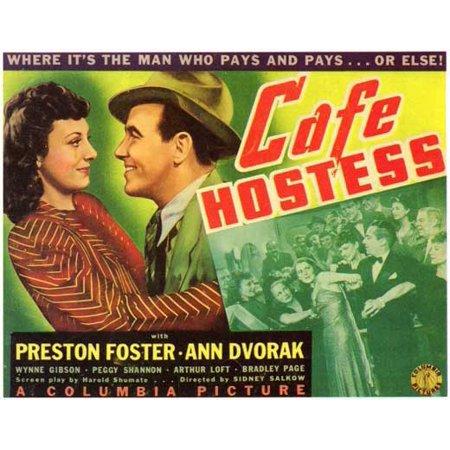 Cafe Hostess Poster Movie Mini Promo