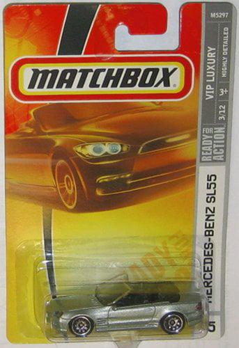 Silver MERCEDES BENZ SL55 Matchbox 2007 AMG VIP Rides Series 1:64 Scale Collectible Die... by Mattel
