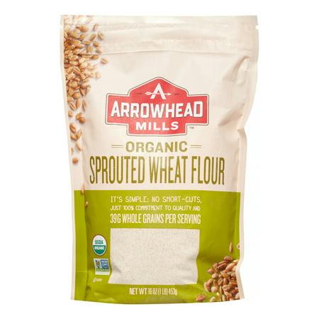 Arrowhead Mills Organic Sprouted Wheat Flour, 16oz