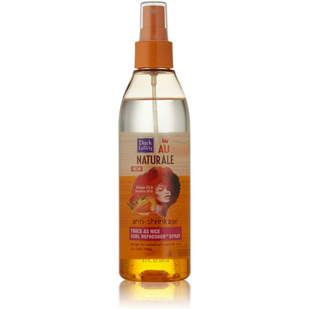 3 Pack - Dark and Lovely Au Naturale Anti-Shrinkage Twice as Nice Curl Refresher Spray 8.5