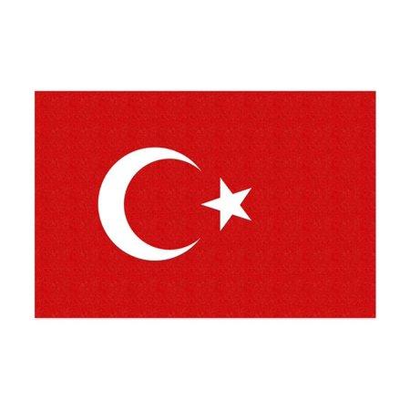 Turkey Country Flag - Letterpress Print Wall Art By Lantern Press](Turkish Lanterns)