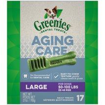 Dog Treats: Greenies Aging Care Large Breed