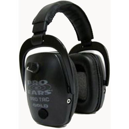 Pro Ears Pro Tac Sc Ear Muffs Black Gs-Pts-L-B - GS-PTS-L-B