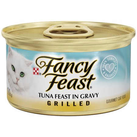 Purina Fancy Feast Grilled Tuna Feast In Gravy Cat Food, 3 oz