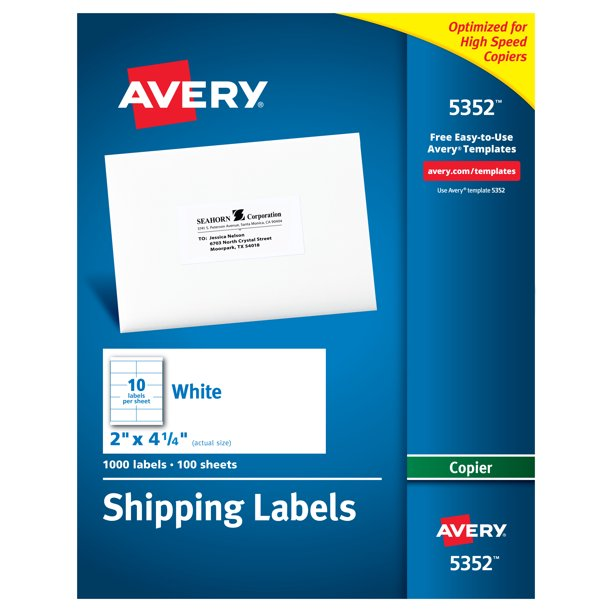 2 X 4 Shipping Label Template from i5.walmartimages.com