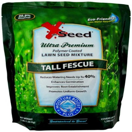 X-Seed Moisture Boost Plus Tall Fescue Lawn Seed Mixture
