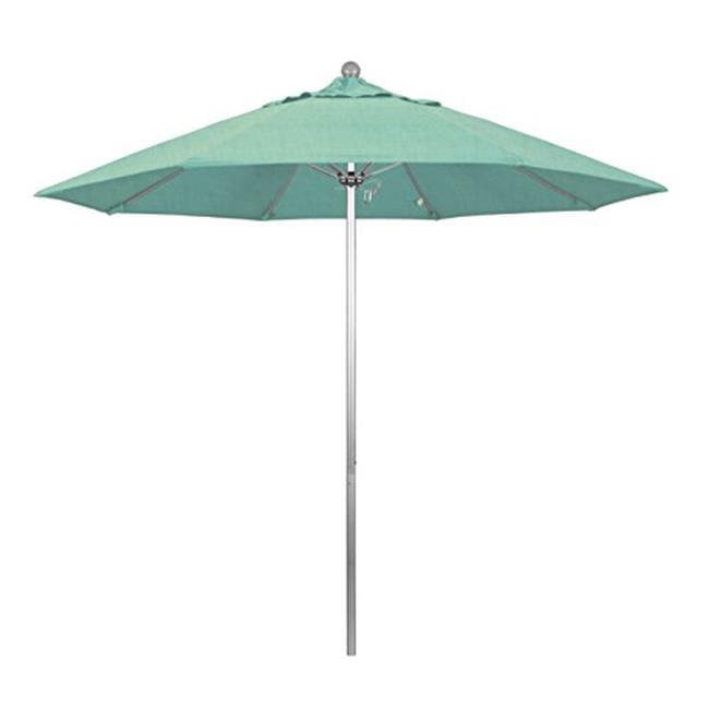 California Umbrella Alto908002 48020 9 Ft Round Aluminum Patio