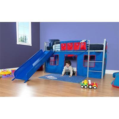 New Item Dhp 5481096 Fantasy Loft Bed Curtain Set Blue 1 5 X 11 X