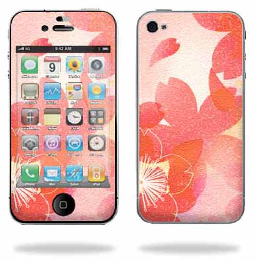 Mightyskins Apple iPhone 4 or iPhone 4S AT&T or Verizon 16GB 32GB Cell Phone wrap sticker skins Floral Design