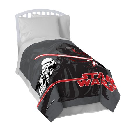 Star Wars Ep7 Live Action Action Grey Blanket