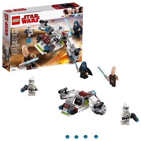 LEGO Star Wars TM Jedi and Clone Troopers Battle Pack 75206 (lego star wars battle of geonosis)