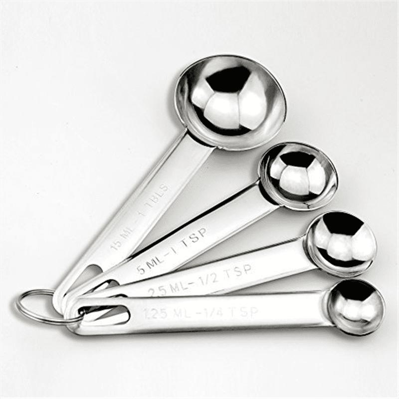 Talon Stainless Steel Measuring Spoon Set (4 Piece)