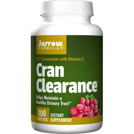 Jarrow Formulas Cran Clearance, Helps Maintain a Healthy Urinary Tract, 100 -