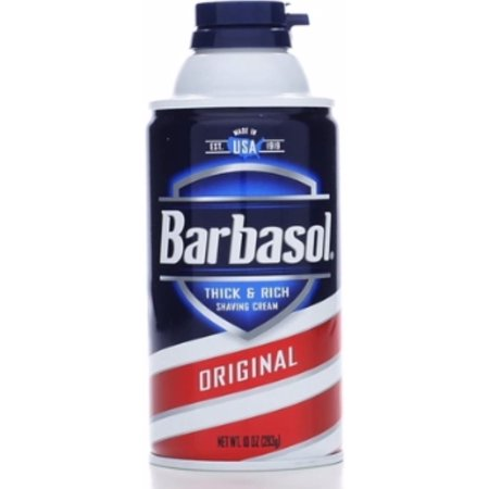 Barbasol Beard Buster Shaving Cream Original 10 oz (Pack of 3) ()