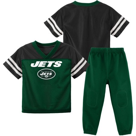 NFL NFL New York Jets Toddler Short Sleeve Top and Pant Set