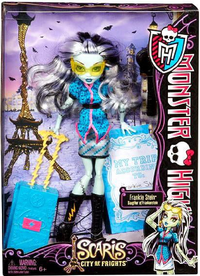 "Monster High Scaris City of Frights Frankie Stein 10.5"" Doll by Mattel"