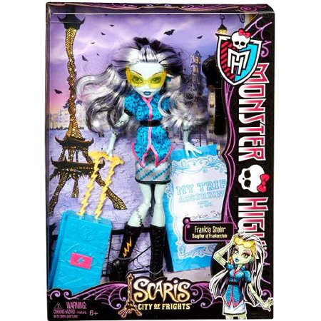 Party City Halloween Monster High (Monster High Scaris City of Frights Frankie Stein 10.5