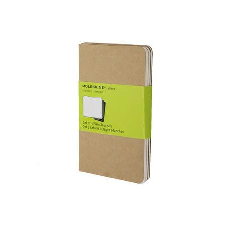 - Moleskine Cahier Pocket Journal, 3.5