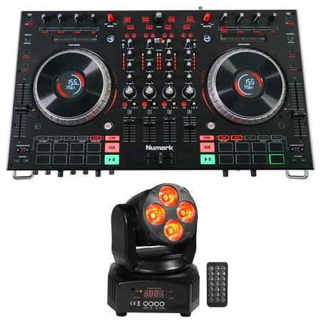 Numark NS6II 4-Channel DJ Controller w/ Color LCD Display+Serato DJ+Moving  Head