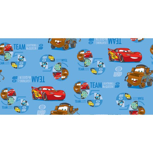 "Springs Creative Creative Cuts Disney ""Cars the Race Team"" Fabric, 2 Yard Bolt, Print"