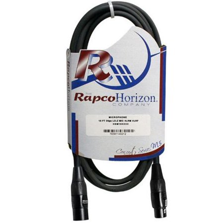 RapcoHorizon Concert Series M5 Microphone Cable (5 ft) Rapcohorizon M1 Microphone Cable