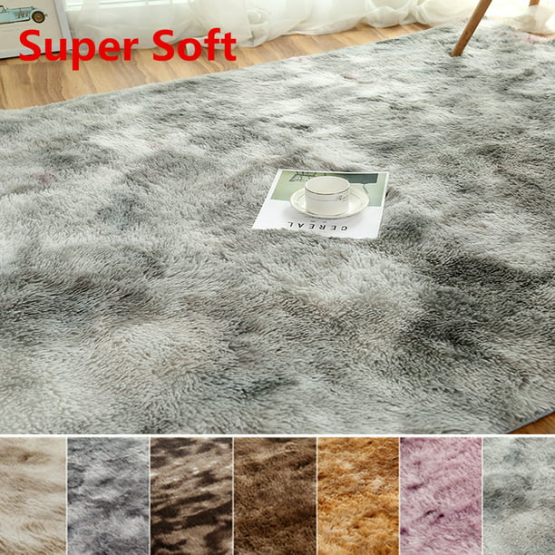 6 Sizes Soft Bedroom Rugs Shaggy Floor Area Rug For Living Room Kids Room Home Decor Carpet Washable Mat Walmart Com Walmart Com