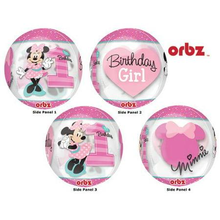 First Birthday Minnie Mouse (Burton & Burton 16