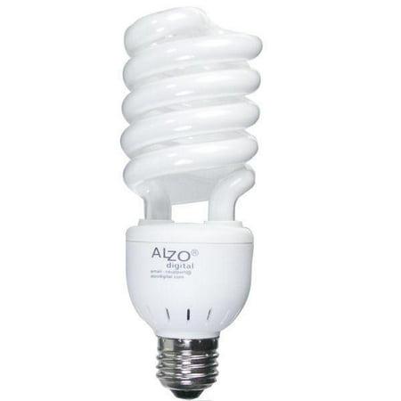 ALZO 27W CFL Photo Light Bulb 5500K, 1300 Lumens, 120V