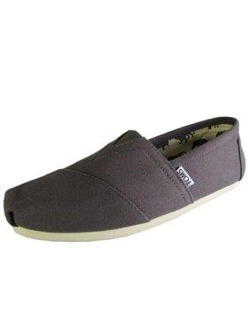 62c83b7c044 Product Image Toms 001001A07-GREY  Men Classic Ash Canvas Grey Slip-On  Authentic Sneaker (