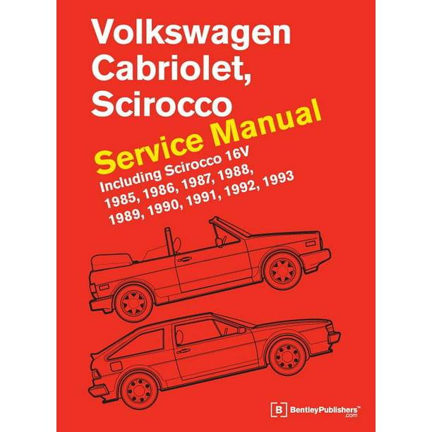 [DHAV_9290]  Volkswagen Cabriolet, Scirocco Service Manual: 1985, 1986, 1987, 1988,  1989, 1990, 1991, 1992, 1993: Including Scirocco 16v (Hardcover) -  Walmart.com - Walmart.com | 1988 Vw Cabriolet Engine Diagram |  | Walmart